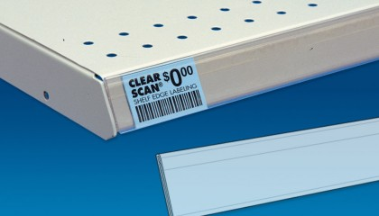 Clear Scan® Adhesive Back for Flat Surfaces