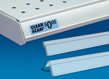 Adhesive-back Flat Surface Shelving Labels