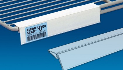 Clear Scan® for Wire Shelving