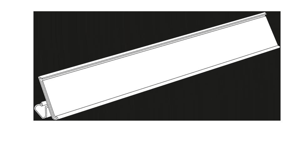 Clear Scan 174 Storewide Label Holder System Trion
