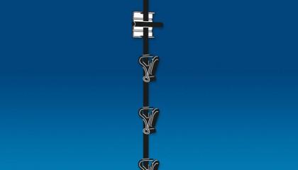 Hang Rod Strip Merchandiser
