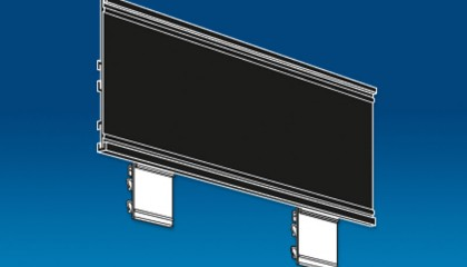 Header Sign for End Cap / Power Wing