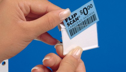 Flip Scan® Plain Paper Label Holders