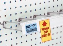 Optional Info Grip™ Sign Clip