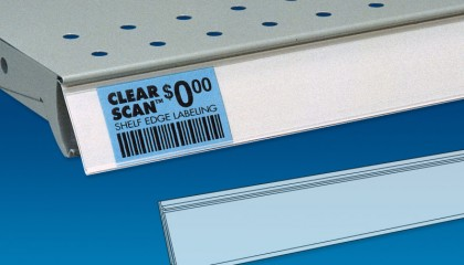 Clear Scan® Flexible Back Price Channel